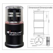 LUZ a LED AMAZÔNIA Mirim 4 Plus - Compacto 5 em 1 Digital